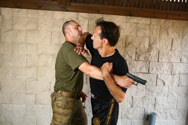 Pistol defence